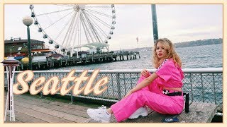 SEATTLE VLOG: Gum Wall, Space Needle, Museum of Pop Culture