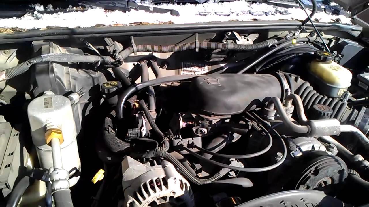 2000 Chevy Blazer Engine Knock Youtube