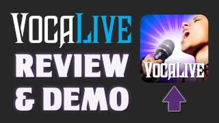 iOS App Review - VocaLive for iPad - Review / Tutorial / Demo - IK Multimedia - Pro Vocal Processor