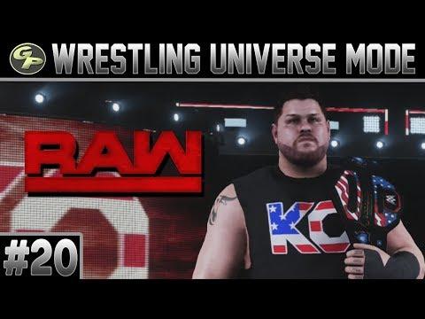 WWE 2K18 Universe Mode | RAW | #20 | East Lansing, MI