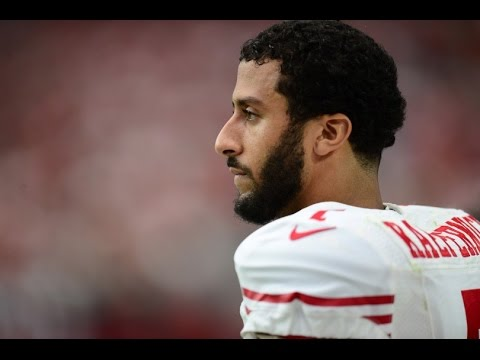 49ers QB Colin Kaepernick refuses to stand for national anthem!!!