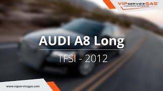 Обзор ГБО на Audi A8 Long TFSI 2012 - ГБО Zavoli (Газ на Ауди А8 Лонг TFSI)