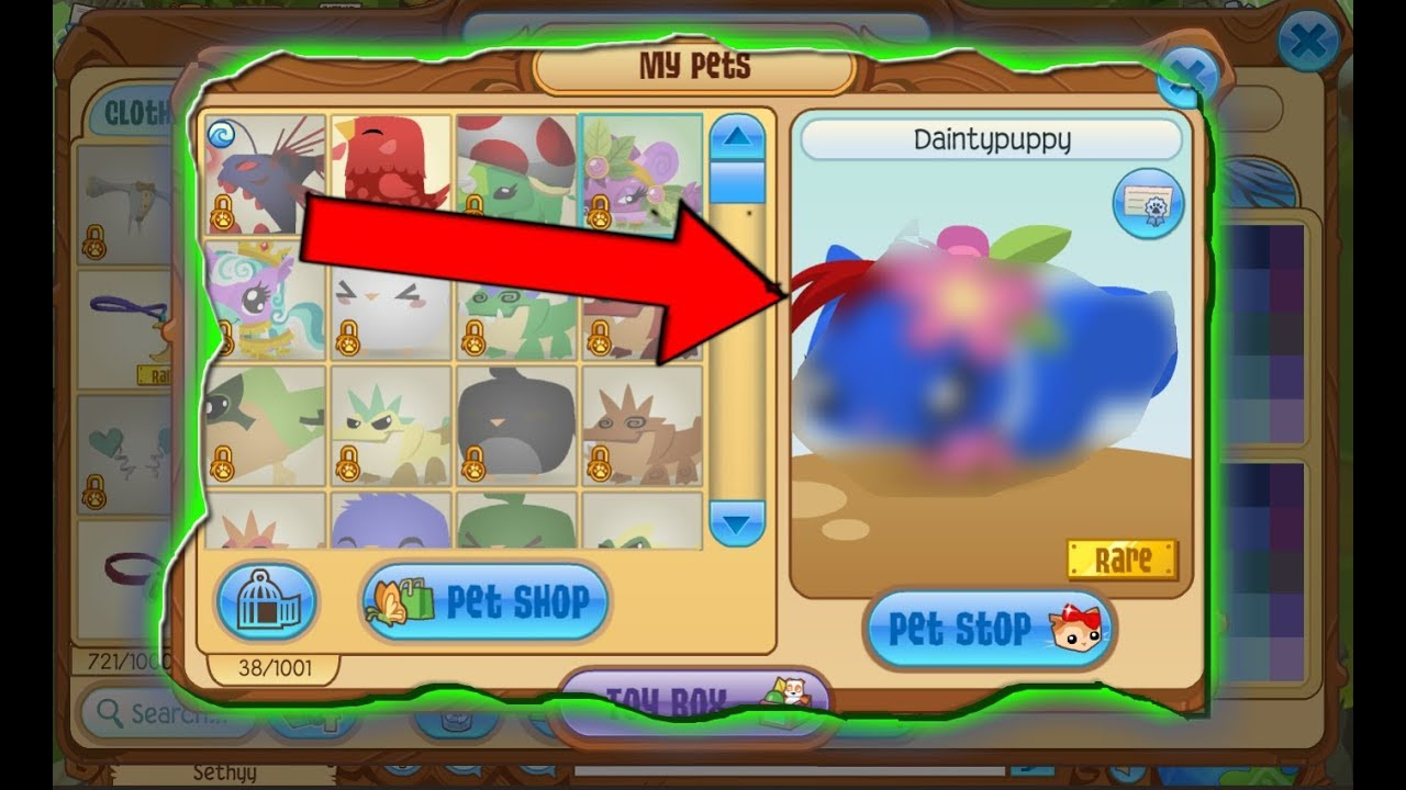 this animal jam pet