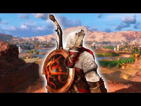 CREEPIEST MAN IN EGYPT (Assassin's Creed Origins Free Roam) thumbnail