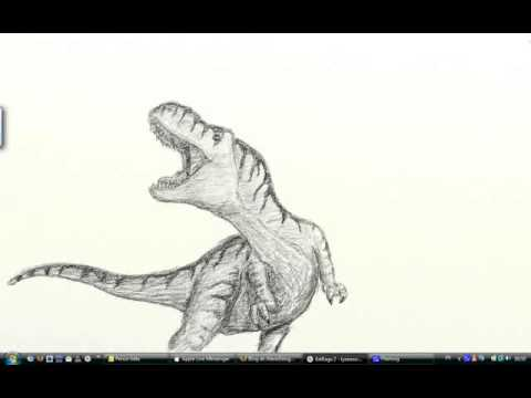 Coloriage dinosaure carnotaurus coloriage enfant t - Dessin de tyrannosaure ...
