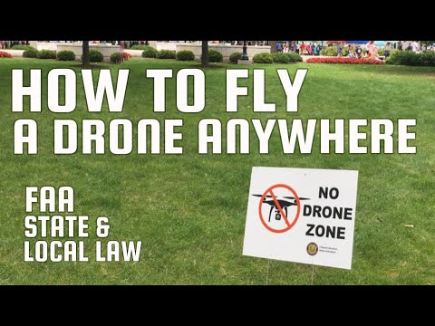 How To Fly A Drone Anywhere | Where To Fly A Drone Legally Step By Step Tutorial