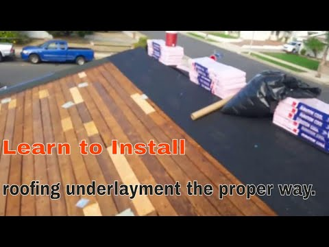 how-to-install-roofing-underlayment-the-proper-way-,-why-i-use-30-lbs.-vs-synthetic-?