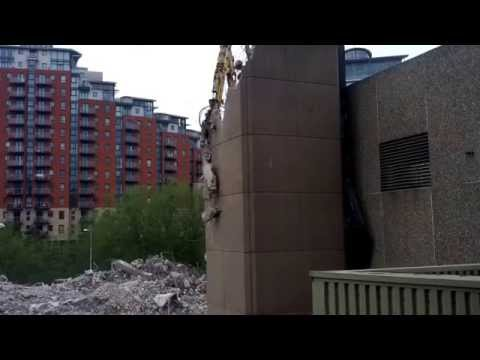 Yorkshire Post Building Demolition #1