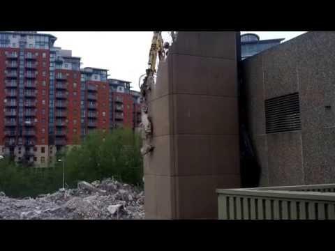Yorkshire Post Building Demolition #1