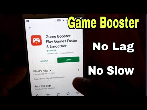 Game Booster App For Pubg And Free Fire/Game Booster App Review