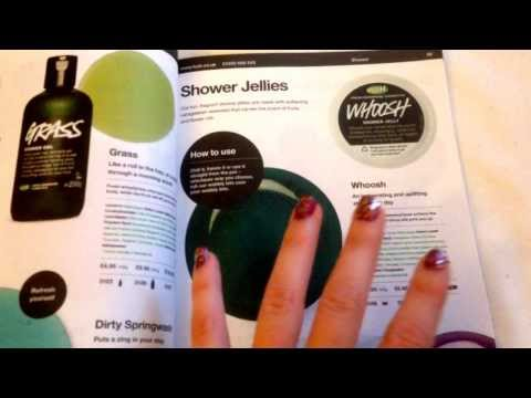 Quick ASMR - PART 2: Soft Whispered Flicking Through Lush Magazine