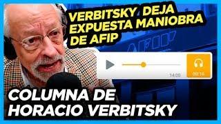 """Verbitsky revela audios """"El blanqueo que cerró en 2016, sigue abierto para los amigos de Macri"""""""
