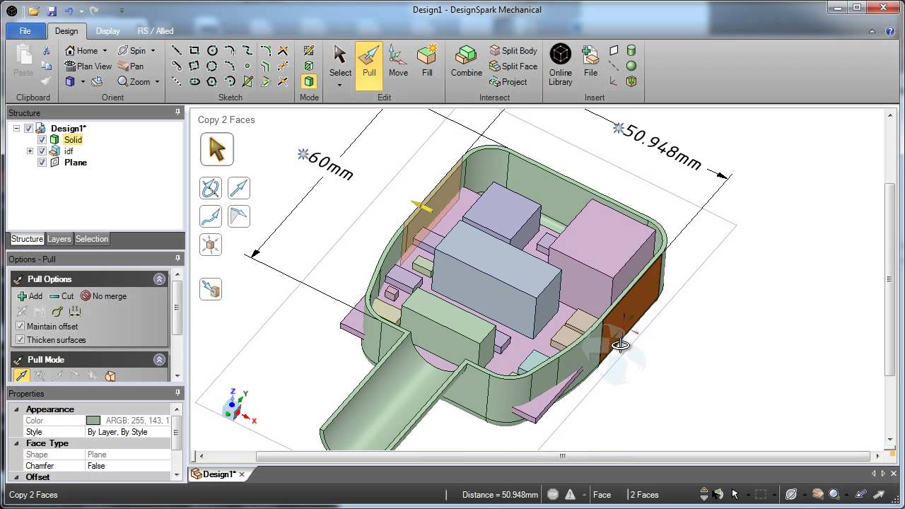 New DesignSpark Mechanical is free 3D CAD for electronic and
