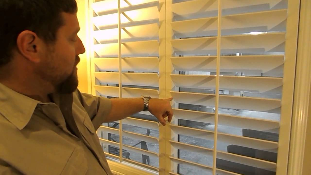 How To Repair Tension In Your Shutters Youtube
