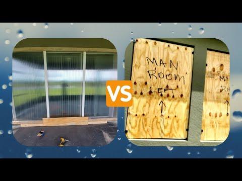 Polycarbonate Panels VS Plywood Panels