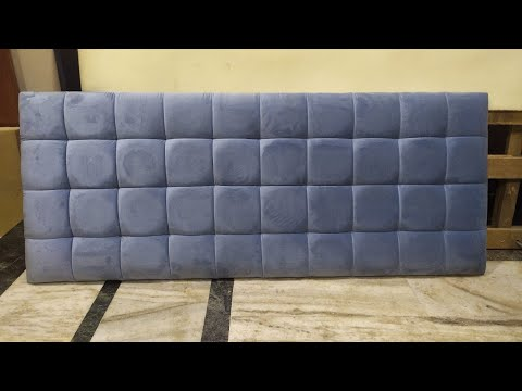 quilted bed headboard