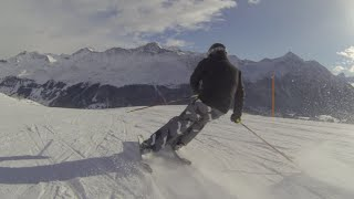 GoPro Hero 3 Black: skiing in Lenzerheide Valbella 2016