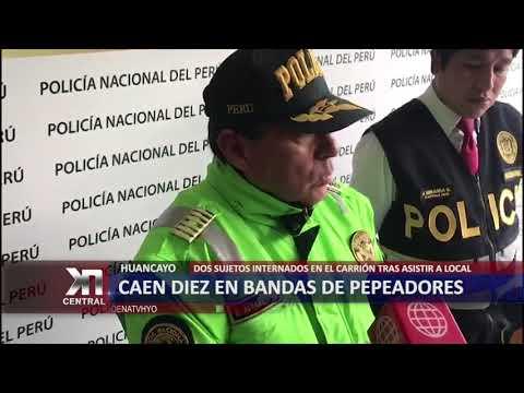 CAEN DIEZ EN BANDAS DE PEPADORES