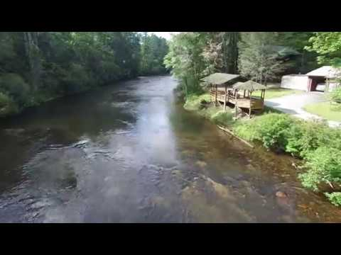 Toccoa River Drone Footage