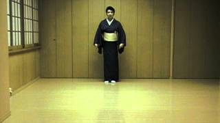 Japanese traditional dance Lesson 2