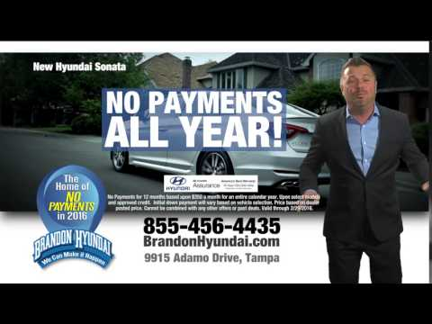 Brandon Hyundai - No Payments in 2016