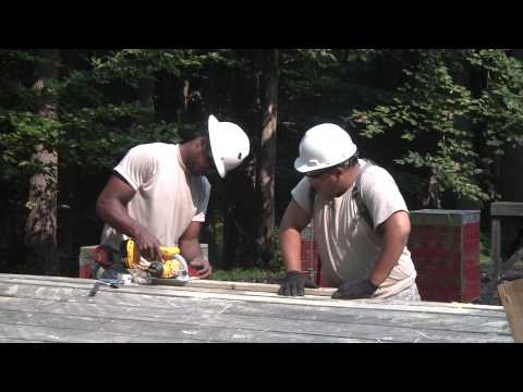 244th engineers hammer out repairs (Video 1)