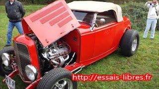 #HOT ROD #FORD 1932 moteur V8