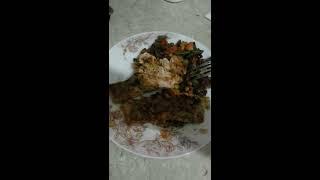 Филе рыбы с овощами.