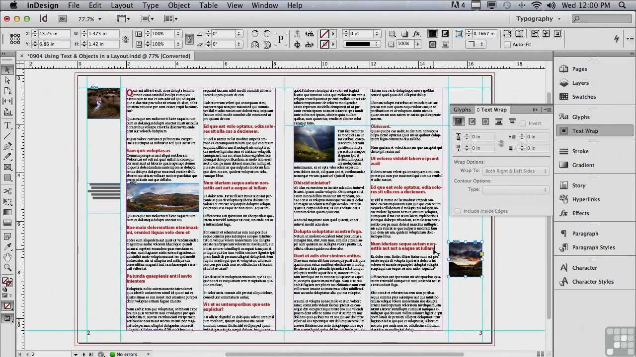 Adobe Indesign Cs6 Tutorials