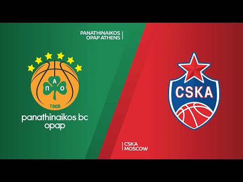 Panathinaikos OPAP Athens - CSKA Moscow Highlights | Turkish Airlines EuroLeague, RS Round 7