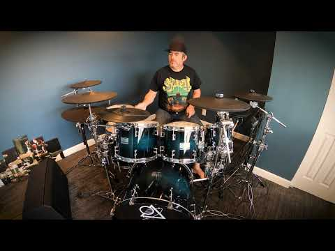 EricF Drum Cover Ape Hangers You Dont Know (What It Takes). Pearl Mimic Pro, Muzzio Drums