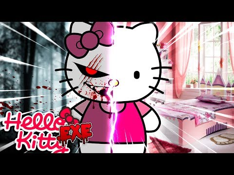 Minecraft: THE BEGINNING OF HELLO KITTY .EXE - LEAH IS TAKEN & TRAPPEDIN THE BASEMENT!!