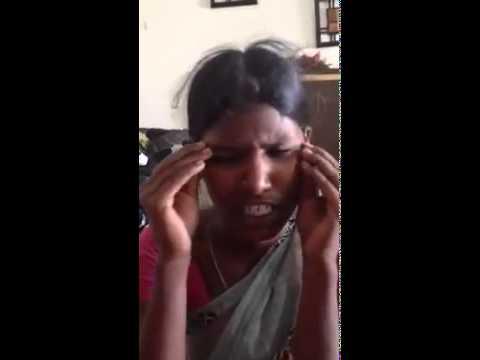 Telugu house maid talking funny english