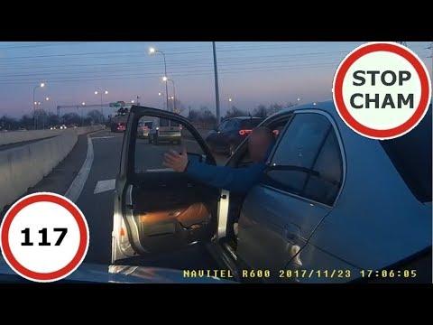 Stop Cham #117 – Niebezpieczne i chamskie sytuacje na drogach