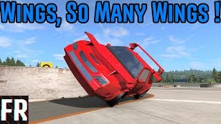 Automation/BeamNG Drive - Wings, So Many Wings ! - Autocross #1