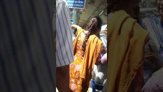 Vadala without ticket passenger miss behaviour with lady tc