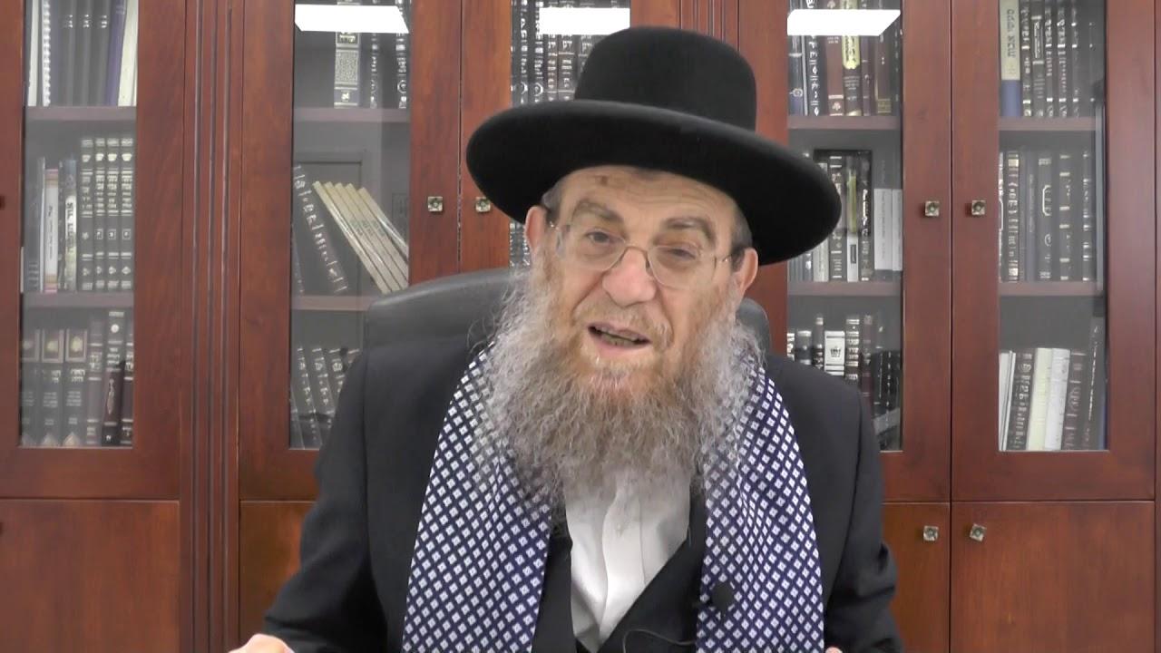 """הגאון הגדול הרב יצחק ברדא שליט""""א - פרשת וארא"""
