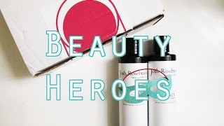 Beauty Heroes November Box Featuring Josh Rosebrook! // Vegan, Natural, Cruelty Free!