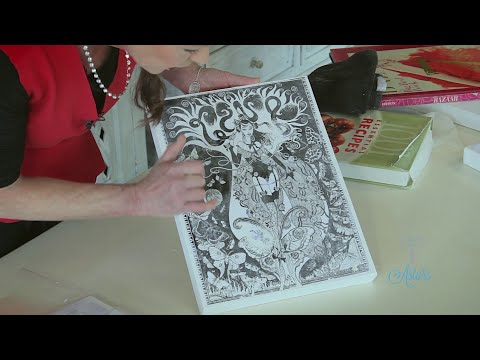How To Transfer Images onto Canvas Arts & Crafts Tutorial