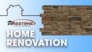 URESTONE PANELS: Home Rennovation