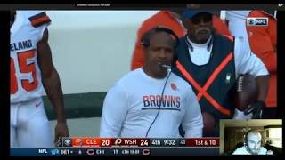 RIGGED NFL Browns Redskins Fumble