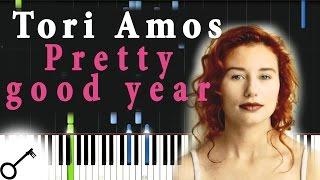 Tori Amos - Pretty good year [Piano Tutorial] Synthesia   passkeypiano