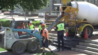 Flanders Memorial Garden at the Australian War Memorial – Construction Timelapse