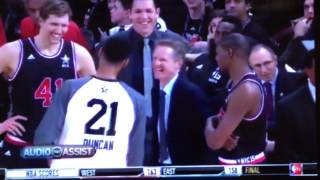 Timmy and Kerr having fun