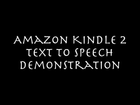 kindle-2-text-to-speech-demo
