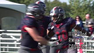 RMU Football: A New Era - (Episode 6 - CCSU)