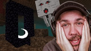 Jeg Klarte Å Sette Meg Fast i The Nether - Minecraft Episode 11