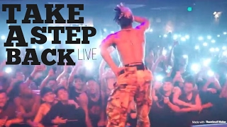 "XXXTENTACION PERFORMS ""Take A Step Back"" CRAZY LIT!"