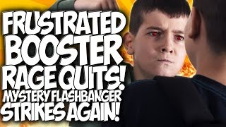 "COD BO2: FRUSTRATED BOOSTER RAGE QUITS!! MYSTERY FLASH-BANGER STRIKES AGAIN! ""COD TROLLING"""