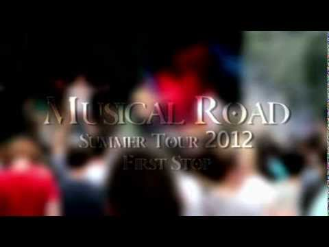 Najavibes - Week 1 of the Musical Road Summer Tour 2012